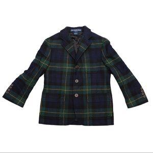 Polo Ralph Lauren Plaid Wool Sport Coat